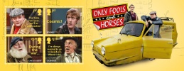 View enlarged 'Only Fools and Horses: Miniature Sheet' Image.