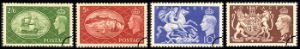 View enlarged 'KGVI: Set of 4 Festival High Values' Image.