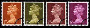 View enlarged 'Machins: 1/2d, 1d, 2d, 6d' Image.