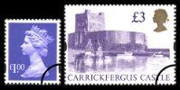 View enlarged 'Machins £1 (small format) & £3 Castles' Image.