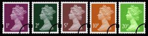 View enlarged 'Machins (EP): 1p, 2p, 5p, 10p, 20p (Self Ad)' Image.
