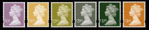 View enlarged 'Machins (EP): £1.35,£1.60,£2.30,£2.80,£3.45,£3.60' Image.