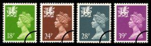 View enlarged 'Wales 18p, 24p, 28p, 39p' Image.