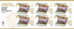 Rowing - Men's Four: Olympic Gold Medal 9: Miniature Sheet