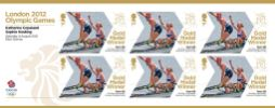 Rowing - Women's Lightweight Double Sculls: Olympic Gold Medal 10: Miniature Sheet