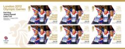 Cycling - Track - Women's Team Pursuit: Olympic Gold Medal 11: Miniature Sheet