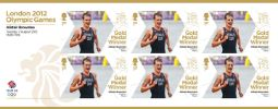 Men's Triathlon - Olympic Gold Medal 19: Miniature Sheet