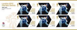 Taekwondo - Women's Under 57kg: Olympic Gold Medal 25: Miniature Sheet