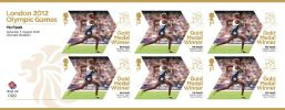 Athletics - Track - Men's 5000m: Olympic Gold Medal 27: Miniature Sheet