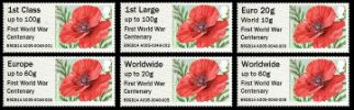 Poppy WW1 Centenary