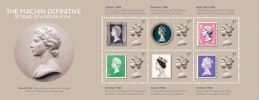 Machin Design Icon: Miniature Sheet