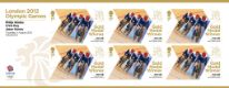 Click to view all covers for Cycling - Track - Men's Team Sprint: Olympic Gold Medal 5: Miniature Sheet