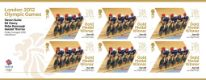Click to view all covers for Cycling - Track - Men's Team Pursuit: Olympic Gold Medal 7: Miniature Sheet