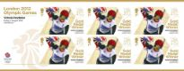 Click to view all covers for Cycling - Track - Women's Keirin: Olympic Gold Medal 8: Miniature Sheet
