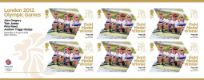 Click to view all covers for Rowing - Men's Four: Olympic Gold Medal 9: Miniature Sheet