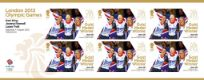 Click to view all covers for Cycling - Track - Women's Team Pursuit: Olympic Gold Medal 11: Miniature Sheet