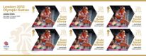 Click to view all covers for Athletics - Woman's Heptathlon: Olympic Gold Medal 12: Miniature Sheet