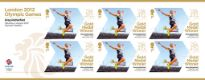 Click to view all covers for Athletics - Men's Long Jump: Olympic Gold Medal 13: Miniature Sheet