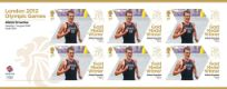 Click to view all covers for Men's Triathlon - Olympic Gold Medal 19: Miniature Sheet