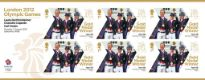 Click to view all covers for Equestrian - Team Dressage: Olympic Gold Medal 20: Miniature Sheet