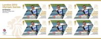 Click to view all covers for Canoe Sprint - Men's Kayak Single: Olympic Gold Medal 26: Miniature Sheet