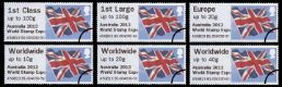 Click to view all covers for Australia World Stamp Expo Flag