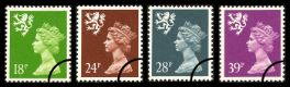 Click to view all covers for Scotland 18p, 24p, 28p, 39p