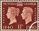 06.05.1940 Postage Stamp Centenary: 1 1/2d
