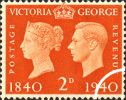 06.05.1940 Postage Stamp Centenary: 2d