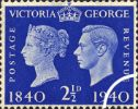 06.05.1940 Postage Stamp Centenary: 2 1/2d