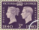 06.05.1940 Postage Stamp Centenary: 3d