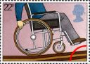 25.03.1981 Year of the Disabled: 22p