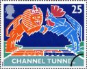 03.05.1994 Channel Tunnel: 25p