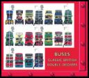 Double Decker Buses: Miniature Sheet