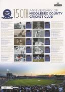 Middlesex CCC [Commemorative Sheet]