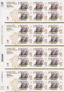 Rowing - Women's Pair: Olympic Gold Medal 1 [Gold Medallist Stamp Sheet]