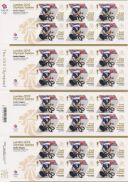 Cycling - Road - Men's Individual Time Trial: Olympic Gold Medal 2 [Gold Medallist Stamp Sheet]
