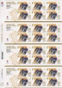 Cycling - Track - Men's Team Sprint: Olympic Gold Medal 5 [Gold Medallist Stamp Sheet]