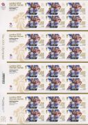 Rowing - Women's Double Sculls: Olympic Gold Medal 6 [Gold Medallist Stamp Sheet]