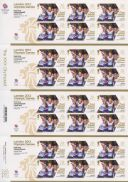 Cycling - Track - Women's Team Pursuit: Olympic Gold Medal 11 [Gold Medallist Stamp Sheet]