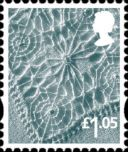 Northern Ireland £1.05 Linen Pattern