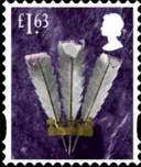 Wales: £1.63 Prince of Wales Feathers