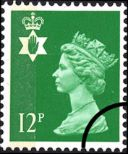 Northern Ireland 12p Bright Green