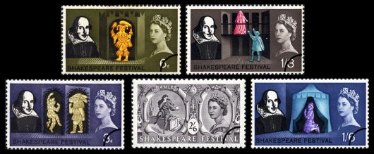 Shakespeare Festival Stamp(s)