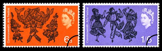 Commonwealth Arts Stamp(s)