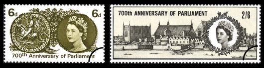 700th Anniv. of Parliament Stamp(s)