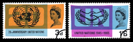 UN & Int. Cooperation Year Stamp(s)