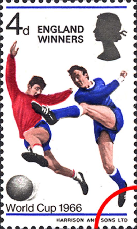 'England Winners' Stamp(s)