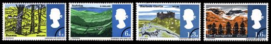 British Landscapes Stamp(s)