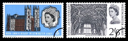Westminster Abbey Stamp(s)